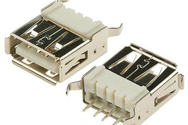 wymiana gniazda USB