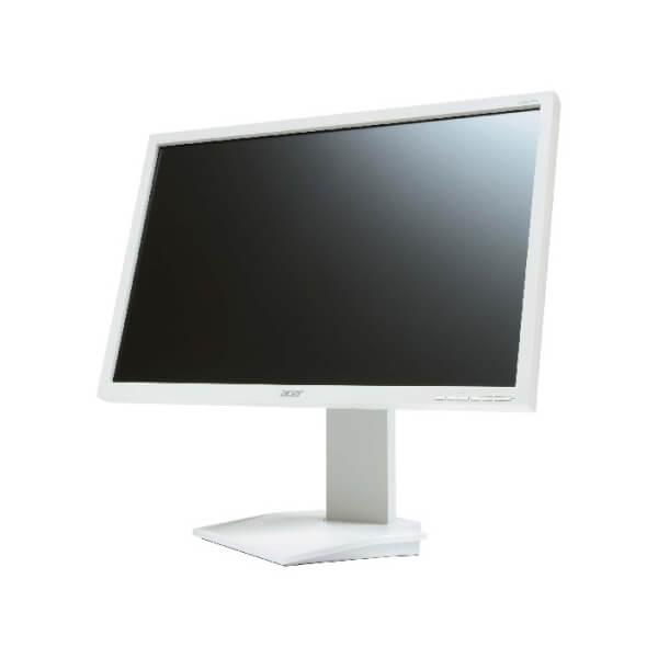 monitor acer b243hl white